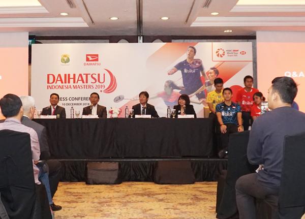 DAIHATSU sponsors INDONESIA MASTERS 2019 for second straight