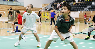 The 1st DAIHATSU Kurume Junior Open Badminton Tournament Badminton Tournament Reports