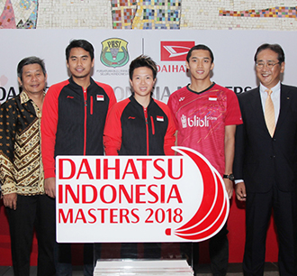 DAIHATSU becomes Title Sponsor for Indonesia Masters 2018.