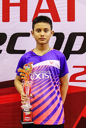 Iqbal Diaz Saputra from PB Exist (U15 Single Male Winner)